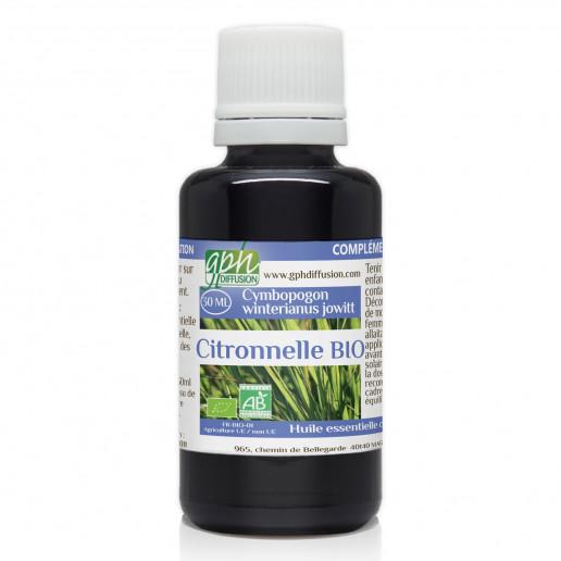 Huile Essentielle de Citronnelle Bio - 30 ml