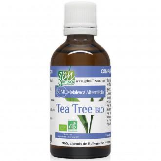 Huile Essentielle de Tea Tree Bio 50ml
