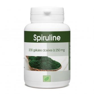 Spiruline - 200 gélules à 250 mg