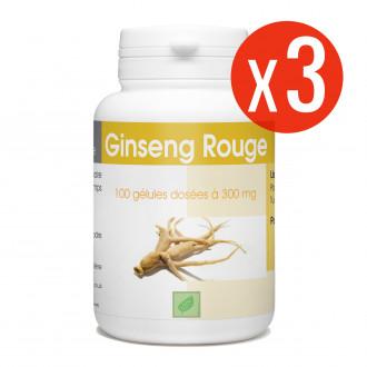 Ginseng Rouge - 300 mg - 300 gélules