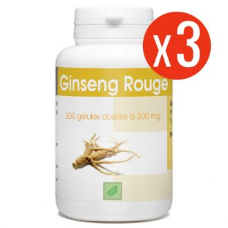 Ginseng Rouge - 300 mg - 600 gélules