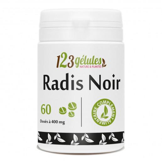 radis Noir - 60 comprimés à 400mg