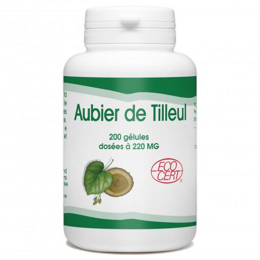 Aubier de Tilleu Bio - 200 gélules à 220 mg