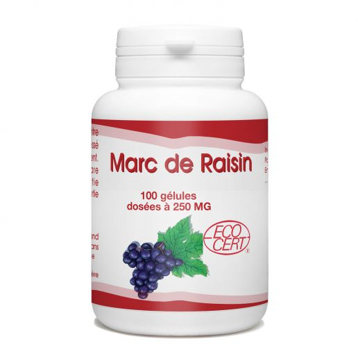 Marc de Raisin - 100 gélules