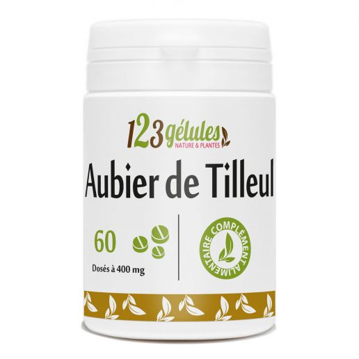 Aubier de Tilleul 60 comprimés dosés à 400mg