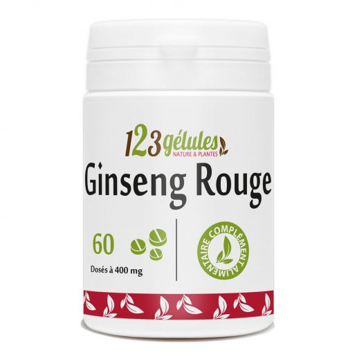 Ginseng Rouge 400mg 60 comprimés
