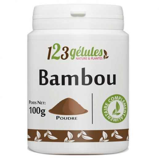 Bambou Tabashir poudre 100g