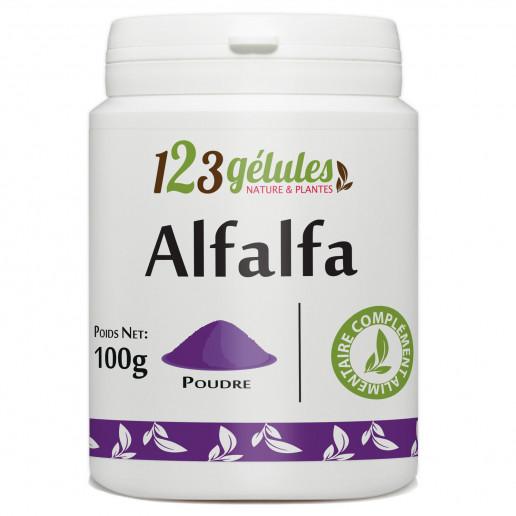 Alfalfa (luzerne) 100g de poudre