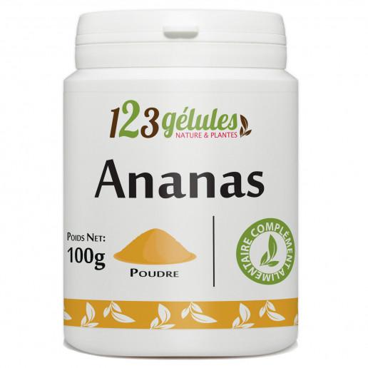 Ananas tige - 100 gr de poudre