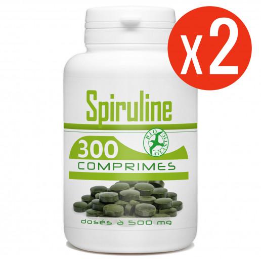 Spiruline - 500 mg - 600 comprimés