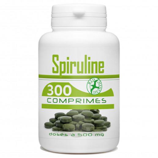 Spiruline 300 comprimés dosés à 500mg