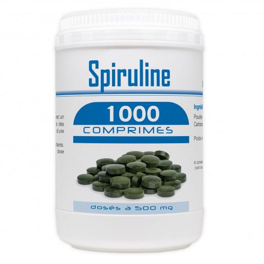 Spiruline - 500 mg - 1000 comprimés