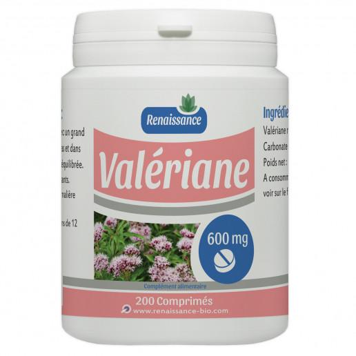 Valériane - 600 mg - 200 comprimés