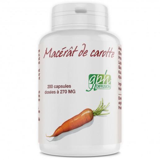 Macérat de Carotte - 200 capsules