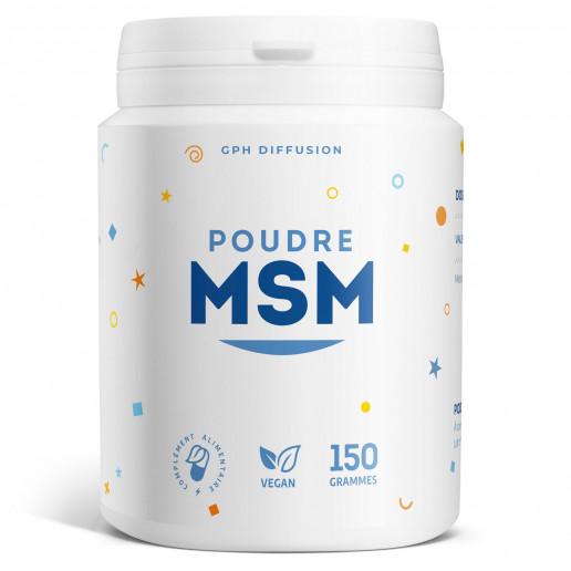 Poudre MSM - 2 g - 150 grammes