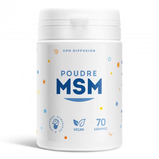 Poudre MSM - 2 g - 70 grammes
