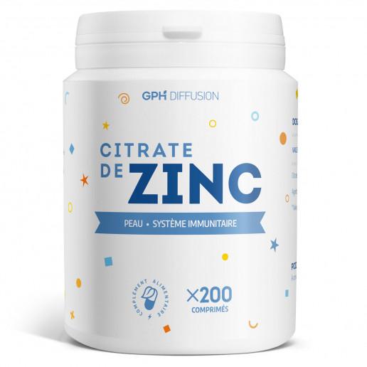 Citrate de Zinc - 15 mg - 200 comprimés