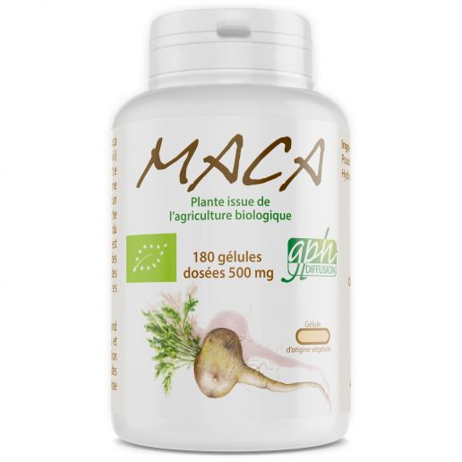 Maca Bio - 180 gélules végétales