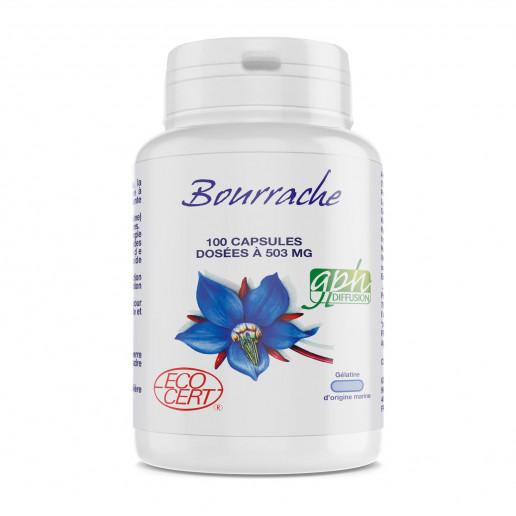 Bourrache Ecocert - 503 mg - 100 capsules