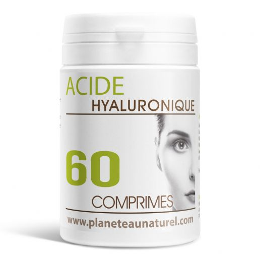 Acide Hyaluronique - 60 comprimés
