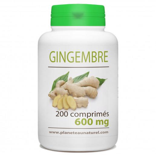 Gingembre - 600 mg - 200 comprimés