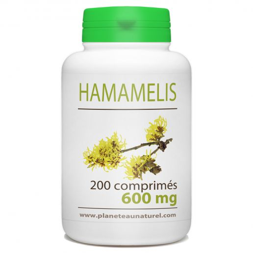 Hamamélis - 600 mg - 200 comprimés