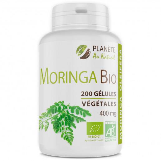 Moringa Oleifera Bio - 400mg - 200 gélules végétales