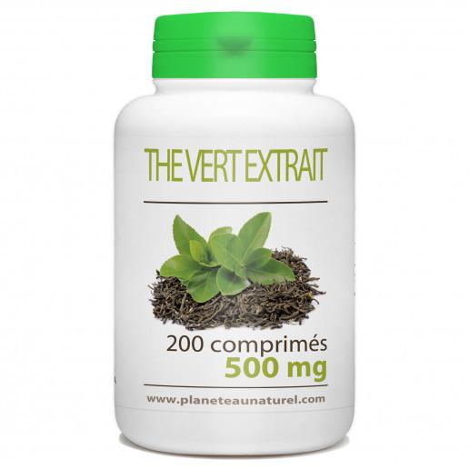 Thé Vert - 500 mg - 200 comprimés