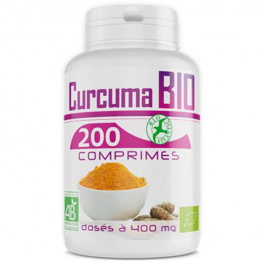 Curcuma Bio 400mg - 200 Comprimés