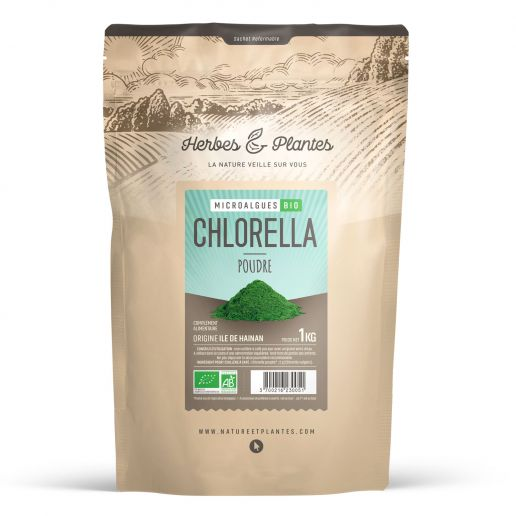Chlorella Bio - 1 Kg de poudre