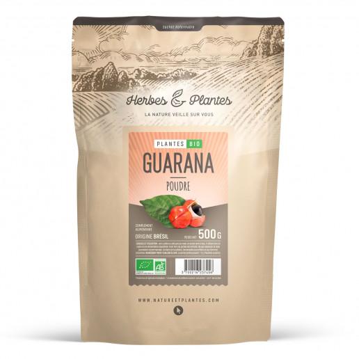 Guarana bio - 500gr de poudre