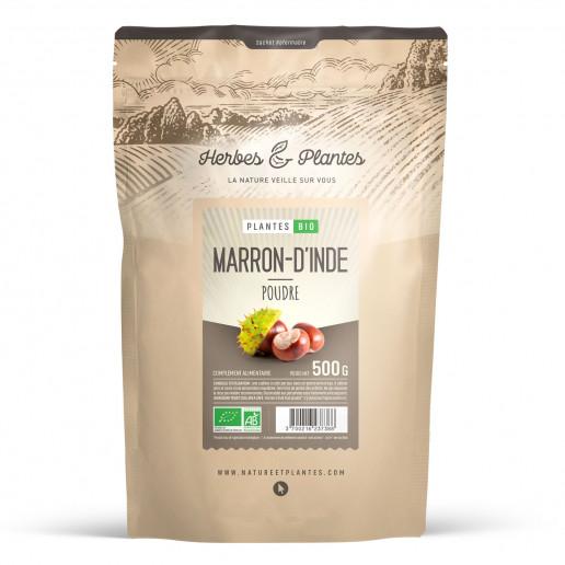 Marron d'Inde Bio - 500gr de poudre