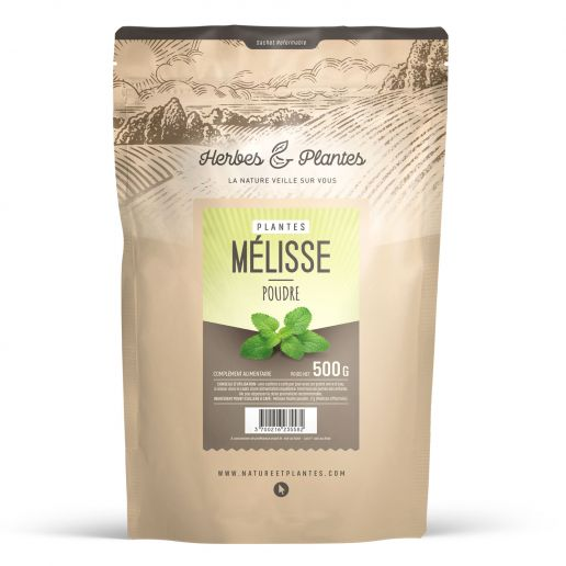 Poudre de Mélisse 500 gr