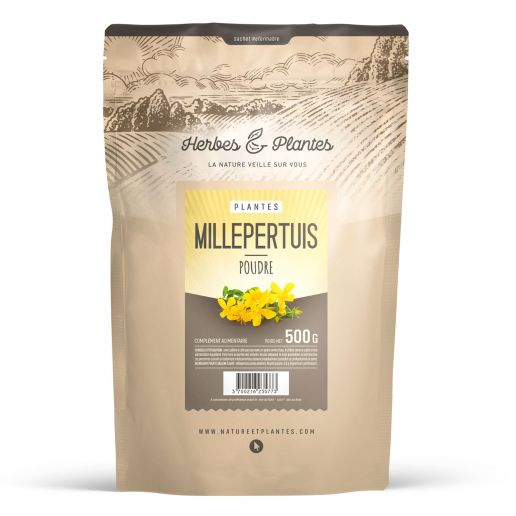 Millepertuis en Poudre - 500 gr
