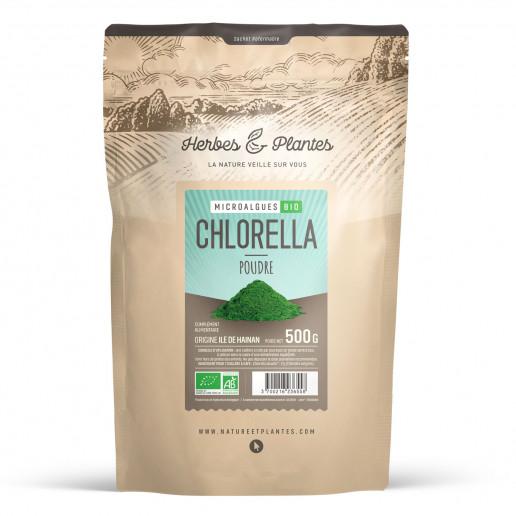 Chlorella Bio - 500 g de poudre